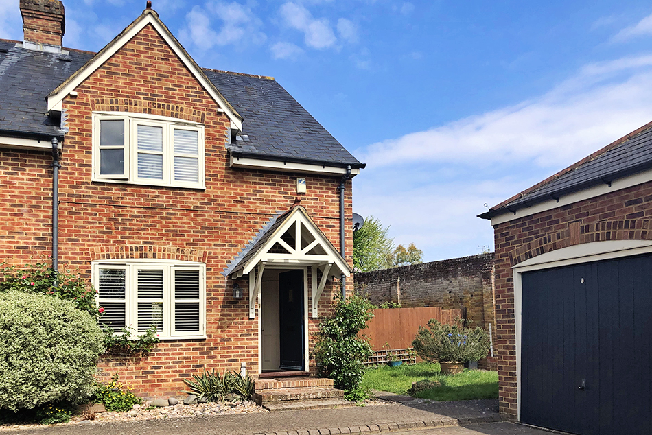 3 Bedroom End Of Terrace House, Swan Court, Hartley Wintney